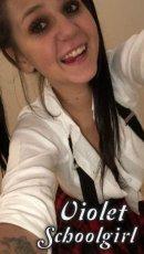 Meet Violet Schoolgirl in Limerick City right now!